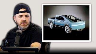 "The ""Futuristic"" Tesla Pickup Truck"
