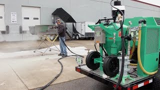 How To Strip Down Paint And Body Filler With Dustless Blasting