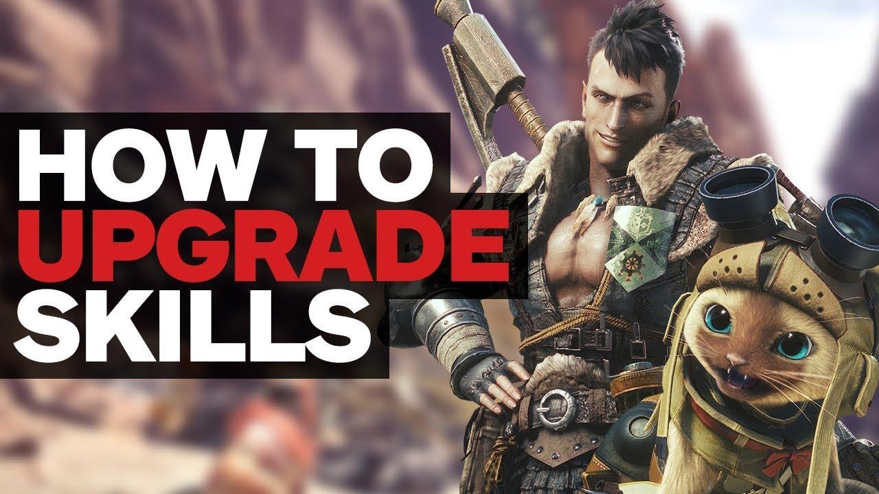 Monster Hunter World – How to Upgrade Armor Skills