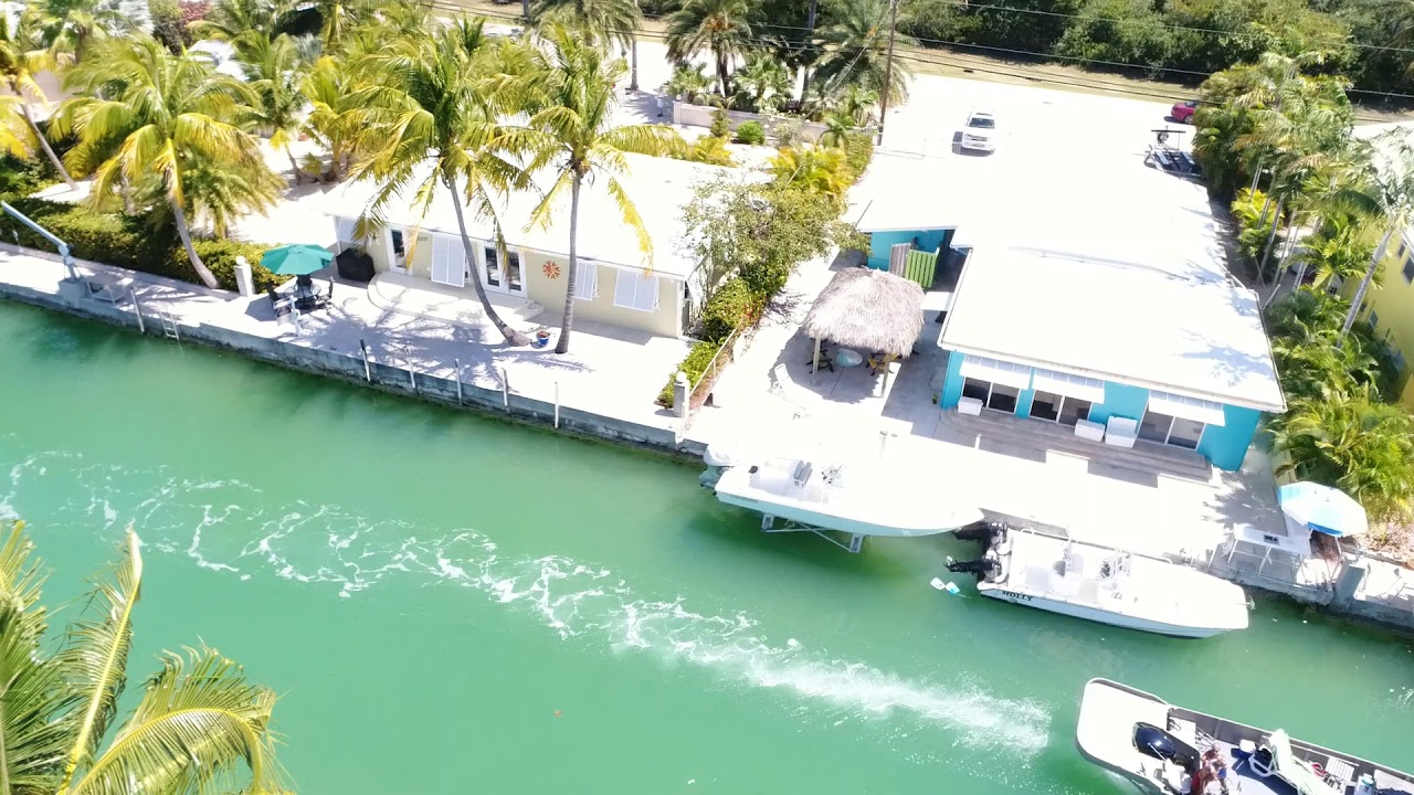 544 W Shore Dr, Canal Front on Summerland Key, in the Florida Keys