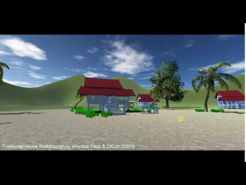 VR CGI Malay House