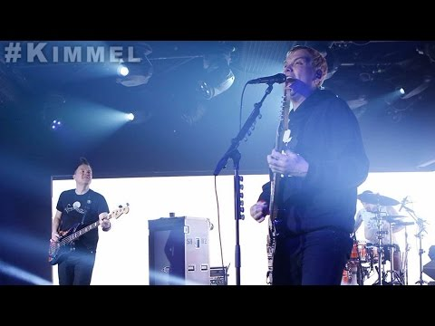 blink-182 live at Jimmy Kimmel Live - 01-10-2017