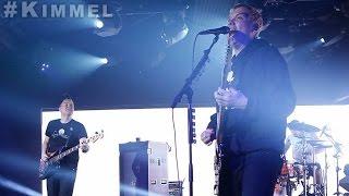 blink-182 live at Jimmy Kimmel Live - 01-10-2017