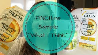 Garnier Fructis Nourishing Treat 1 Minute Hair Mask | PINCHme | Get Free Stuff | Product Reviews