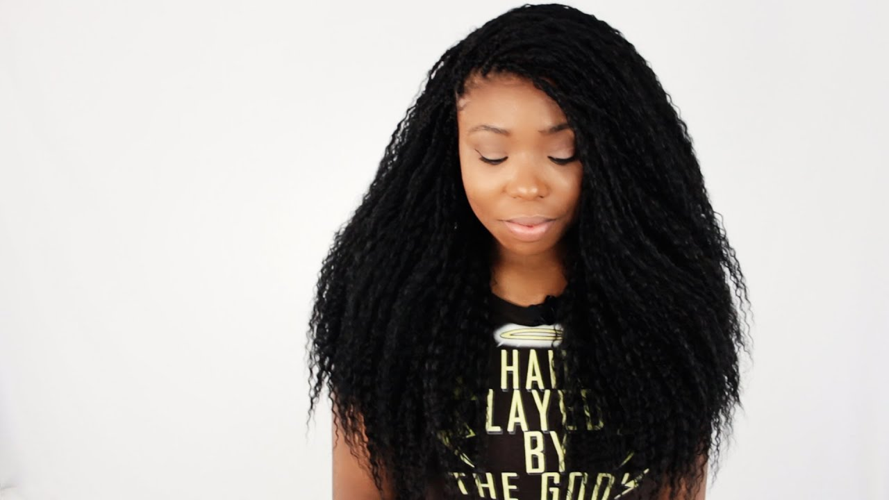 How To Do Individual Tree Braids Tutorial Part 1 Of 7