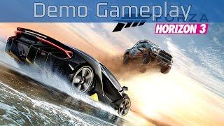 Forza Horizon 3 - Demo Gameplay [HD 1080P]