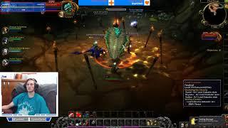 Level 15 + Dungeon Finder Grind   WoW BFA   Warrior