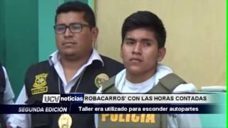 """""""ROBACARROS"""" CON LAS HORAS CONTADAS -UCV NOTICIAS PIURA"""