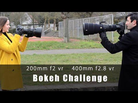 Bokeh Challenge Nikon 200mm F2 Vr Vs 400mm