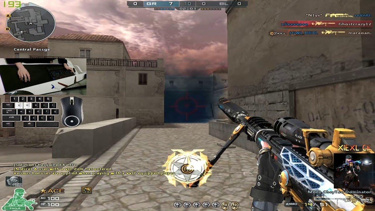 CF XIEXL: M200 CheyTac-Dominator Search & Destroy BlackWidow GamePlay