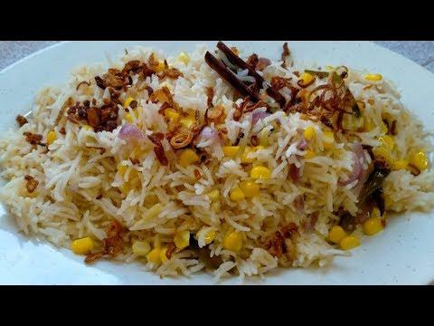 Cara Membuat Resepi Nasi Jagung - Santapan Sore