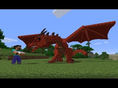 Майнкрафт мод на драконов — Dragon Mounts