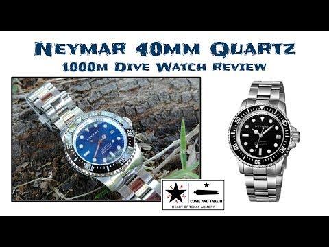a59f0f1ec Neymar 40mm Quartz Diver - A VERY nice 1000m diver for under $200 ...