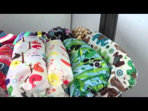 Cloth nappy / diaper stash and storage UK