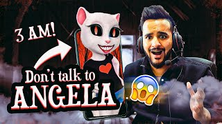 Do NOT talk to ANGELA at 3 AM challenge !! *she replied*