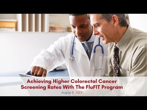 4. The FluFIT Program: A Pathway to Higher CRC Screening Rates