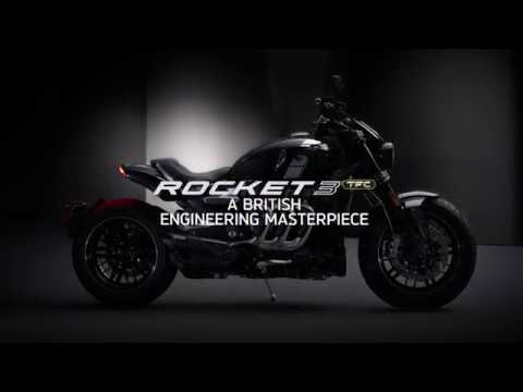 All New Triumph Rocket 3 Tfc Youtube