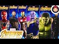 Avengers Infinity War Power FX Titan Hero Series Figures - Thanos Hulk Iron Spider Iron Man Cap