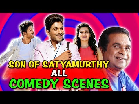 Son Of Satyamurthy All Comedy Scenes   South Indian Hindi Dubbed Best Comedy Scenes
