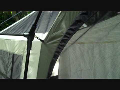How to Set up the Olympic Cottage Tent.wmv