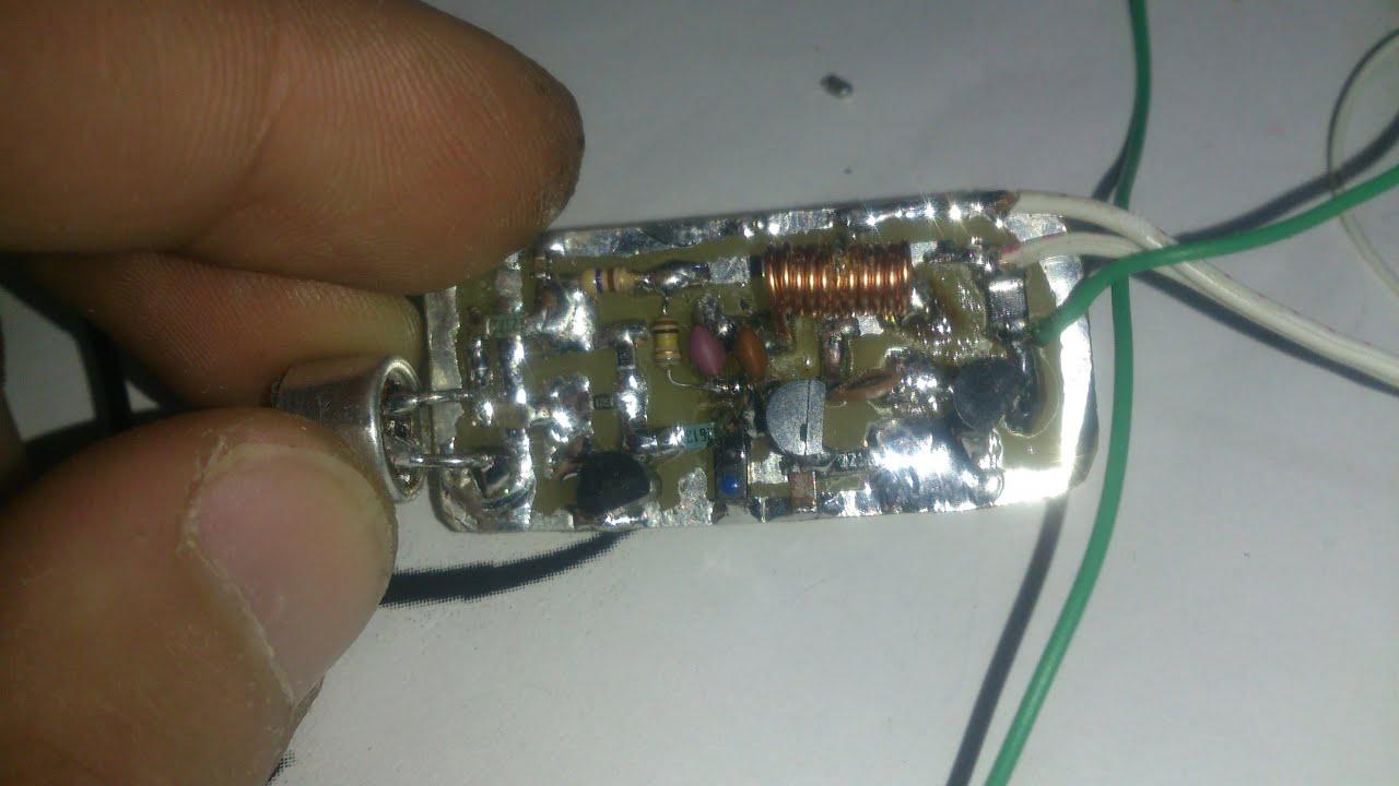 схема жучка на кт 315 радиомикрофон
