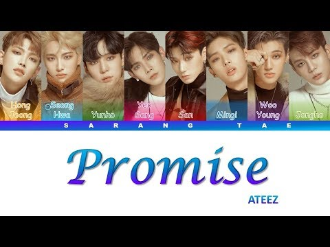 ATEEZ (에이티즈) - 'Promise' Lyrics [Color Coded_Han_Rom_Eng]