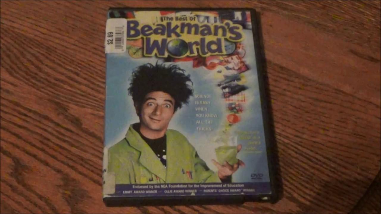 dvd o mundo de beakman
