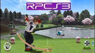 PS3 Emu | Hot Shots Golf: World Invitational HD (RPCS3) i7 4790k PC