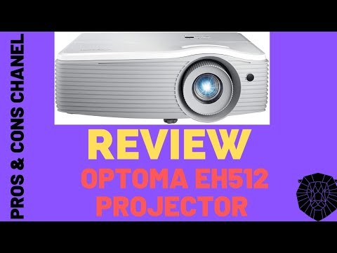 Optoma EH512 1080p WUXGA Support Business Project  Review