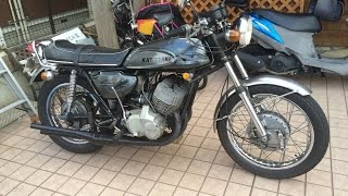 マッハサウンド Denkoチャンバー型zenshinチャンバー 未亡人バイク KA-1 H1 KA1 500SS KAWASAKI  MACHⅢ カワサキ・マッハ