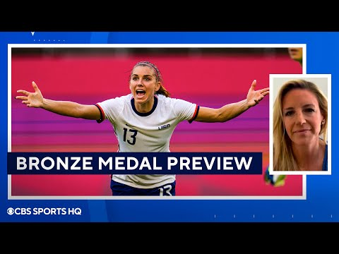 Bronze Medal Preview: USWNT vs Australia 2020 Tokyo Olympics  CBS Sports HQ