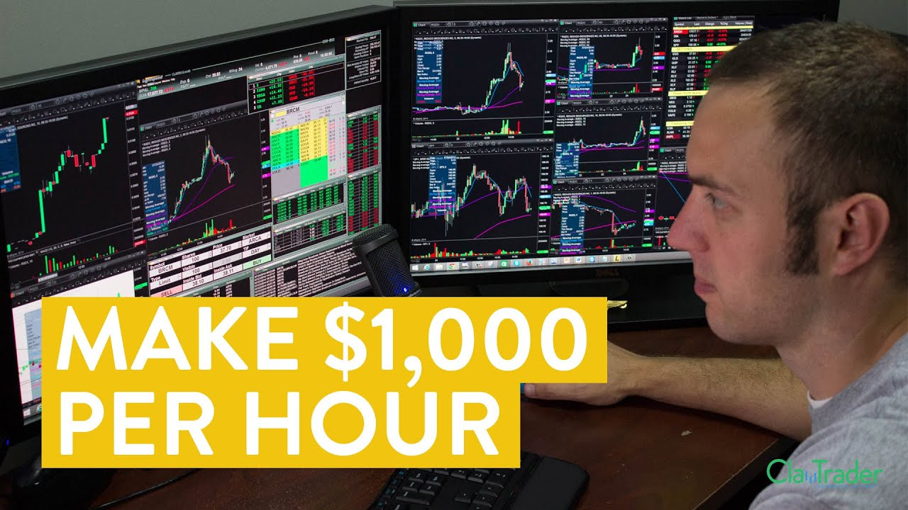 [LIVE] Day Trading | How to Make $1,000 Per Hour (Trade Stocks Online)