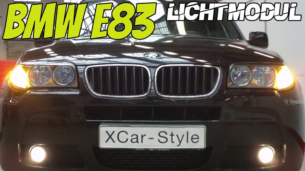 xcar style bmw x3 e83 multi light modul youtube. Black Bedroom Furniture Sets. Home Design Ideas