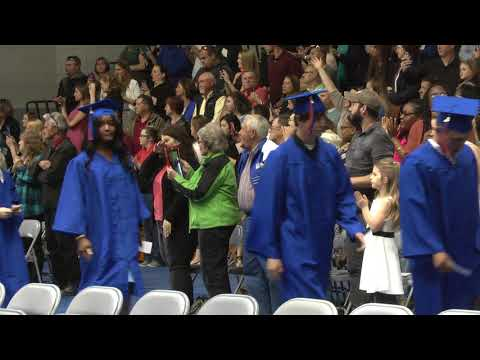 Clinton Community College Commencement  5-11-18