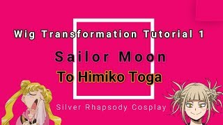 Wig Transformation 1: Sailor Moon to Himiko Toga