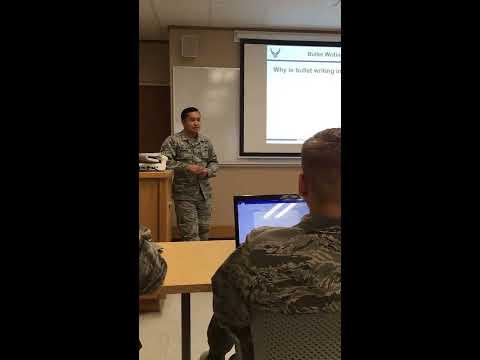 Det 610 EPR/OPR presentation pt 1