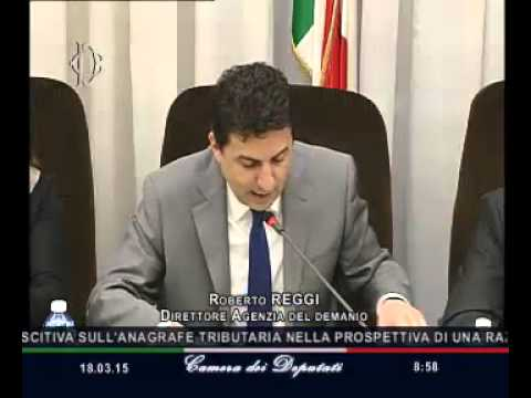 Roma - Audizione Direttore Agenzia demanio, Reggi (18.03.15)