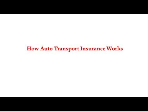American Auto Shipping | How Auto Transport Insurance Works | 800-930-7417