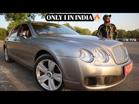 Bentley Continental Flying Spur W12 For Sale | Preowned Bentley In India  | My Country My Ride