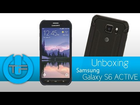 Unboxing Samsung Galaxy S6 Active  - Un todo terreno