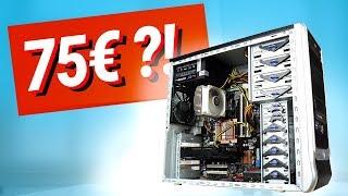 GAMING PC für unter 100€?! Der TEST (2019)