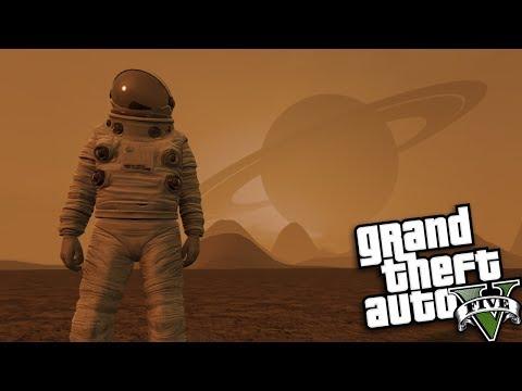 GTA 5 Mods - OUTER SPACE MOD #3 (GTA 5 Mods Gameplay)