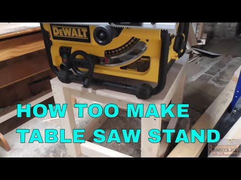 TABLE SAW STAND FOR DeWalt DW 745
