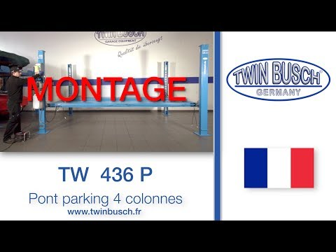 Montage Du Pont TW 436 P De TWIN BUSCH®