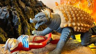 なぜトゲは前に向いているのか?【ゴジラ ファイナルウォーズ】ムービーモンスターシリーズ アンギラス 2004 レビュー★ Godzilla
