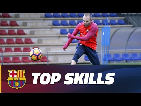 Training skills: Train like Andrés Iniesta