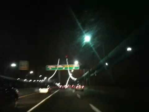 NYC/NJ Verrazano-Narrows Bridge at night - YouTube
