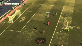 Gameplay Pro Evolution Soccer 2011 (GTS250 1 GB)(Descarga)