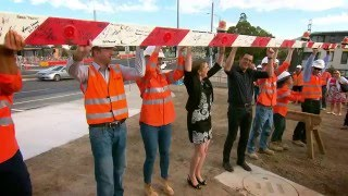 LXRA Burke Road reopens - minus the level crossing