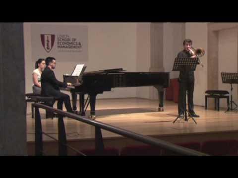 Metropolitana - Ciclo de Recitais 2016 - Trombone Francisco Sales -  Sang till Lotta